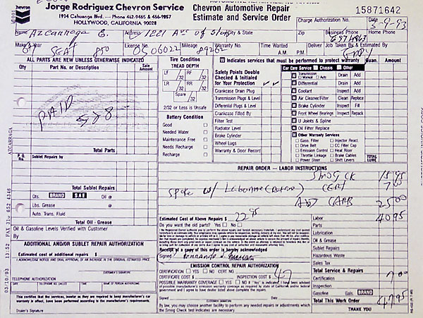 Dmv Smog Check >> Provenance for the World's Most Expensive Seat 850 Coupe?